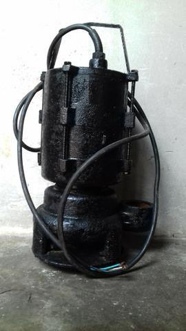 Bomba submersa 1CV trifásica 380 volts