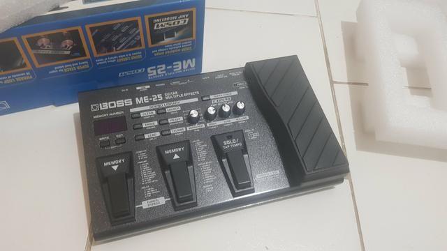Pedaleira Boss ME-25+Cabos input/output - Foto 2
