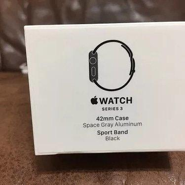 Apple watch serie 3 42mm valor 1550 reais