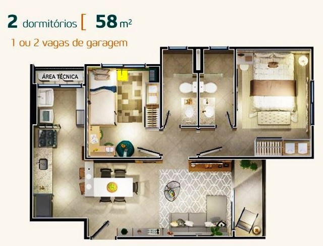 Venda - Lançamento do Residencial Vilaggio Giarginni - Foto 7