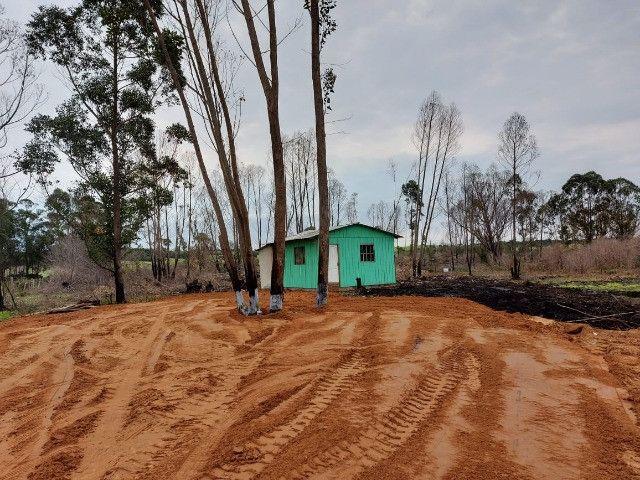Velleda oferece sítio 1 hectare com casa e açude, 800 metros do asfalto