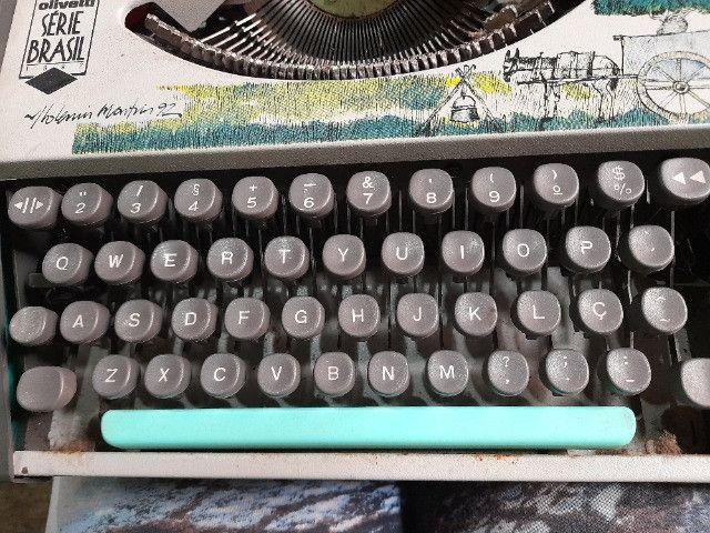 Máquina de escrever olivetti serie brasil 1992 - Foto 6