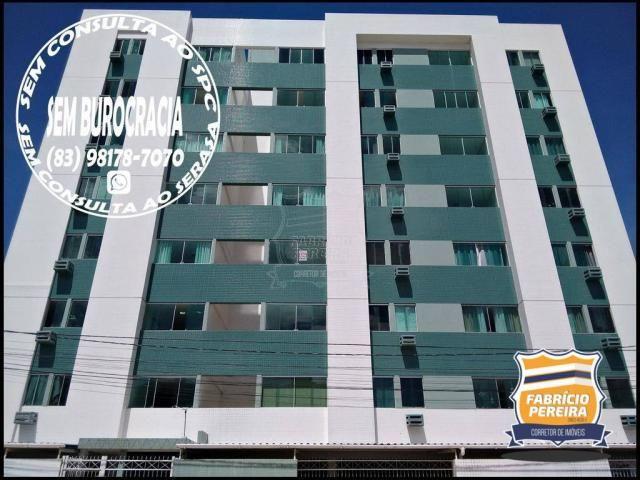 Apartamento para alugar, 64 m² por R$ 1.000,00/mês - Catolé - Campina Grande/PB