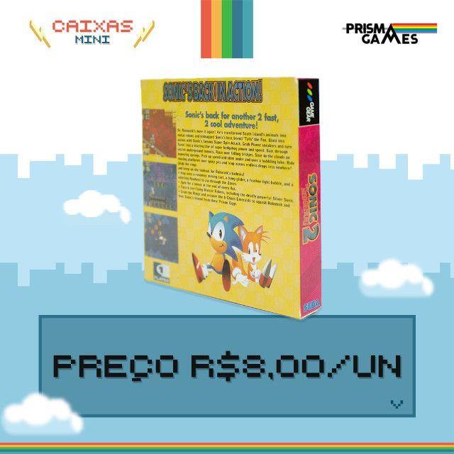 Caixa Mini Para Jogos - Game Gear - Foto 4