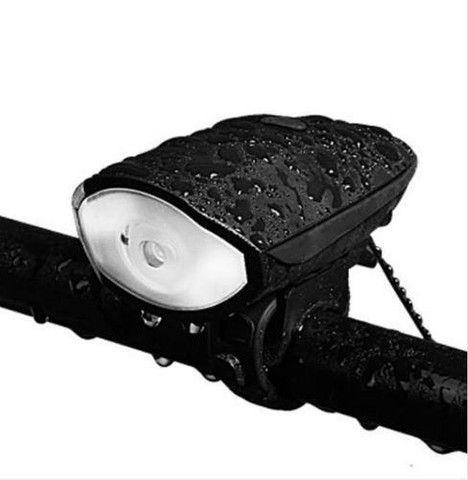 Farol Bike Led Lanterna Bicicleta Recarregável Compralider Recife Fazemos entrega - Foto 5