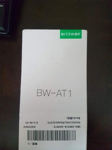 Blitzwolf BW-AT1 - Smartwatch - Novo na Caixa - Preto - 1 Unidade - Foto 5