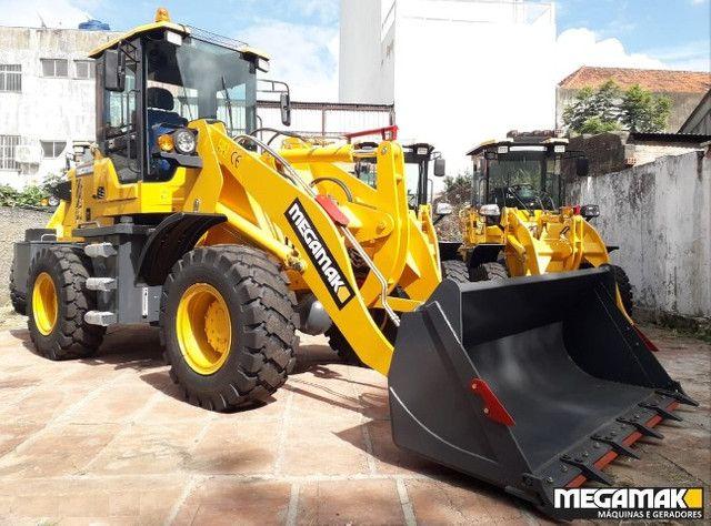 Pá Carregadeira + Engate Rápido + Garfo Pallet 2200kg, Top Linha - Pronta Entrega - Foto 3