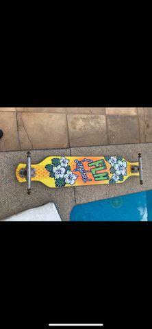 Longboard FLH + Rodas nineballs