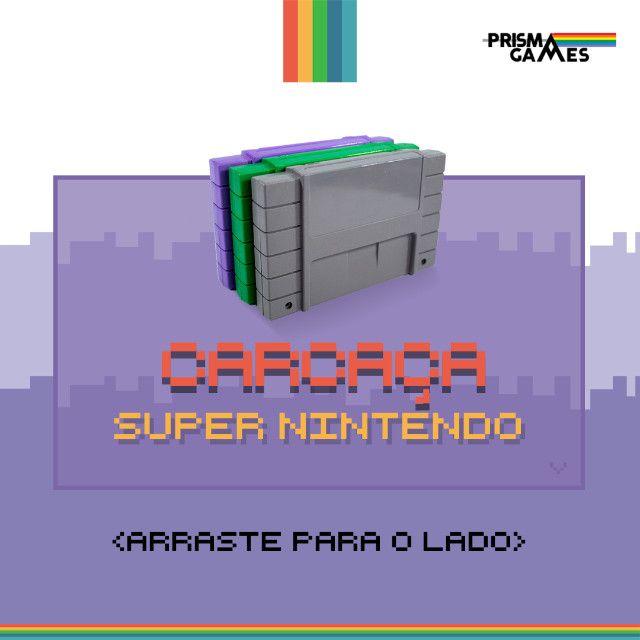 Carcaça Jogos - Super Nintendo (SNES)