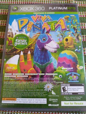Jogo Original para Vídeo Game Xbox 360 2 em 1 Banjo Kazooie e Viva Pinata  - Foto 2