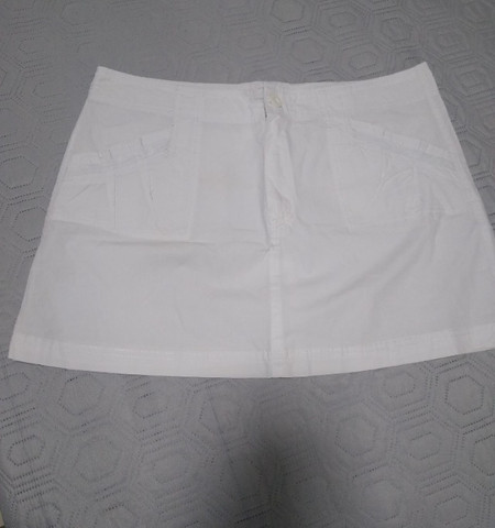 Mini saia branca - Foto 2