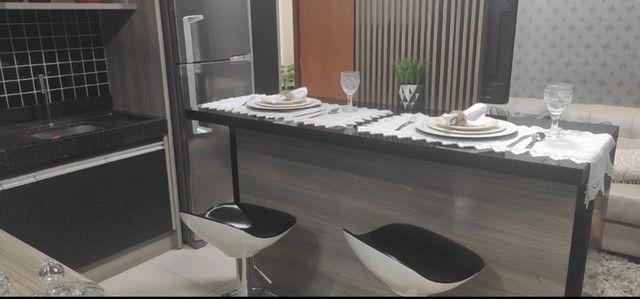 Venda- Apartamento tipo flat, novo,próximo ao Shopping Pantanal - Cuiabá MT - Foto 4