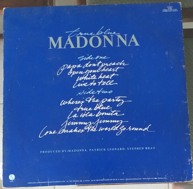 Lp vinil Madonna True Blue  - Foto 2