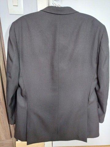 Terno masculino preto, tamanho M. - Foto 3