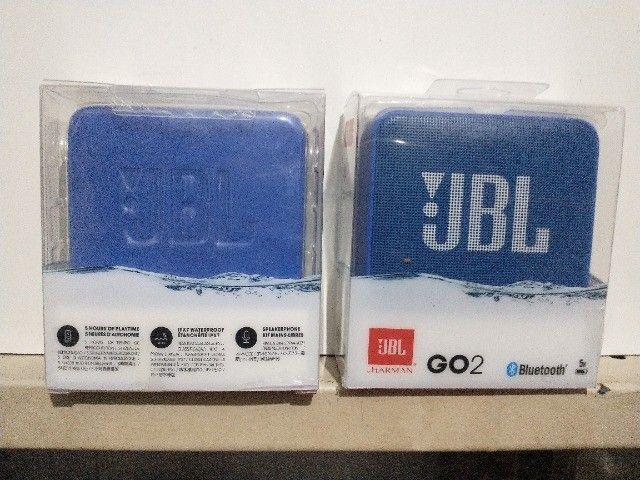 Caixa de som bluetooth Jbl Go  Ipx7 Impermeável Entrada Cabo De Áudio - Foto 2