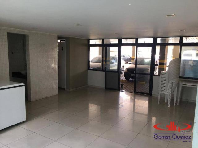 Apartamento com 3 dormitórios para alugar, 129 m² por R$ 1.400/mês - Dionisio Torres - For - Foto 10