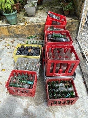 Grades com garrafas  - Foto 2
