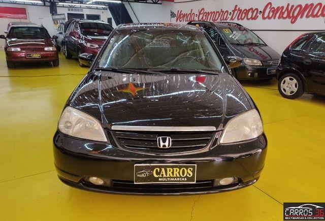 Honda civic sedan lx 1.7 16v (aut) - Foto 2
