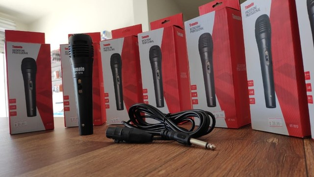 Microfone Profissional P10 (Acompanha Cabo) - Foto 4