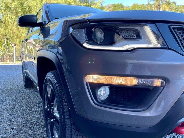 Jeep Compass TrailHawk 2.0 Diesel 4x4 2017 Baixo Km  - Foto 7
