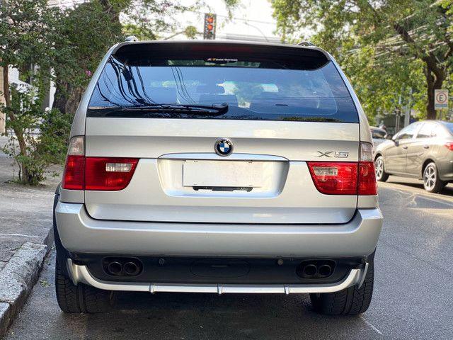 BMW X5 4.4 SPORT  TOP V8 ÚNICO DONO - Foto 5