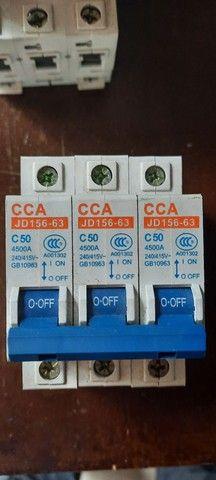 Disjuntores tripolar variados cca LEIA O ANUNCIO - Foto 3