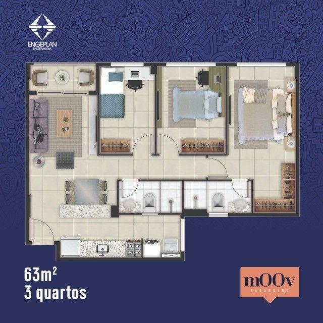 Apartamentos de 2 ou 3 quartos na Parangaba. Com elevador, lazer, segurança para você - Foto 8