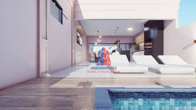 Casa com 3 dormitórios à venda, 200 m² por R$ 1.000.000 - Jardim Dona Maria Azenha - Nova