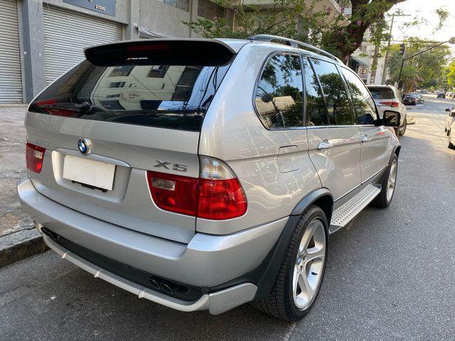 BMW X5 4.4 SPORT  TOP V8 ÚNICO DONO - Foto 8