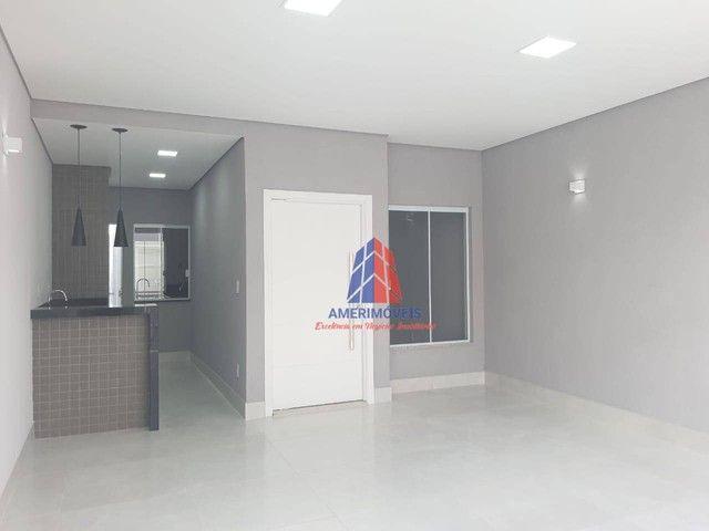 Casa com 3 dormitórios à venda, 119 m² por R$ 437.000,00 - Jardim Santa Rosa - Nova Odessa