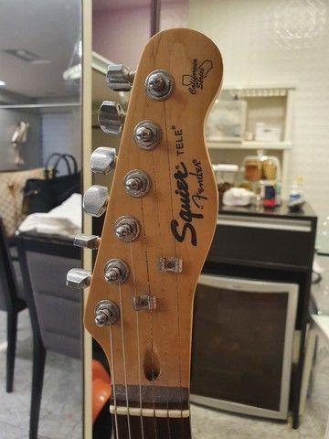 Guitarra Fender Squier Tele California - SOMENTE VENDA - Foto 2