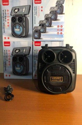 Caixa de Som Portátil Wireless Bluetooth Kimiso KMS-1182 - Foto 3