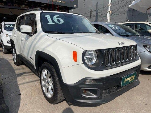 Jeep Renegade Longitude - 2016 - 1.8 Flex Auto - Branco