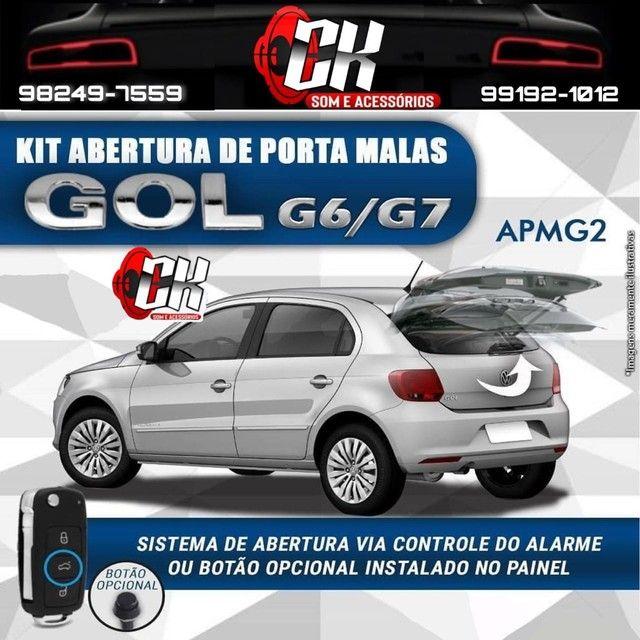 Kit Abertura Porta Malas Tragial APMG2 GOL G6 G7