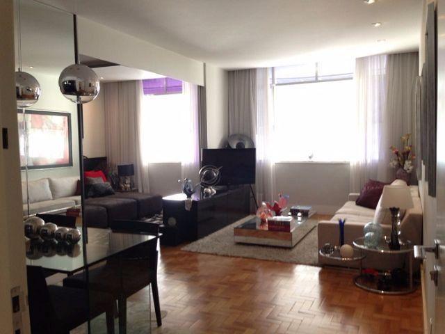 Magnífico Apto120m², Copacabana, Mobiliado, 3Quartos(S.Real Master), Sala 3Ambtes, 1Vaga