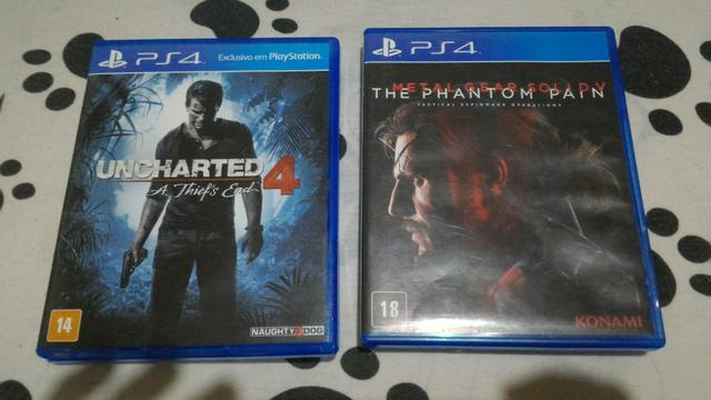 Uncharted 4 e Metal Gear