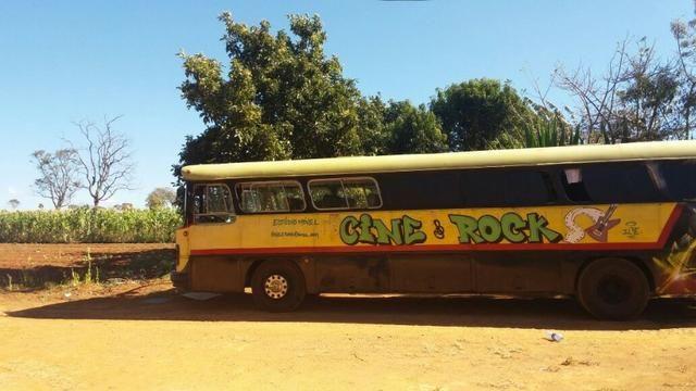 Ônibus Monobloco, mecânica ok e pneus novos - Troco por Van ou Carro do meu interesse - Foto 4