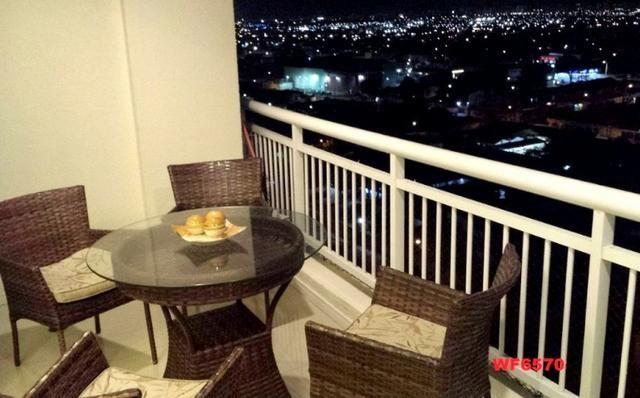 Allegro condomínio, 2 quartos, gabinete, projetado, alto luxo, andar alto, lazer completo - Foto 10