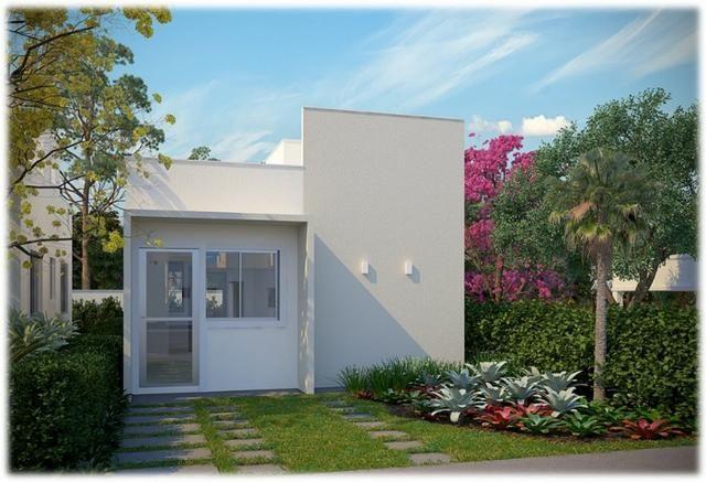 Casa de 2/4 na laje em Condomínio - Região Jardim Cruzeiro e Feira IX - Ent Facilitada
