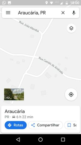 Chacara a 4 km do centro de Araucara 3.734,18 pronto para construir - Foto 10