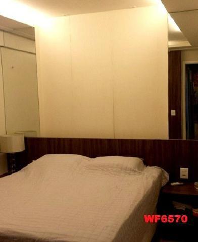 Allegro condomínio, 2 quartos, gabinete, projetado, alto luxo, andar alto, lazer completo - Foto 6