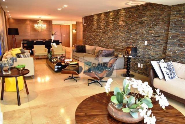 Apartamento Alto Padrão 200m² com 3 suítes e 3 vagas à venda, Jatiúca, Maceió, Alagoas
