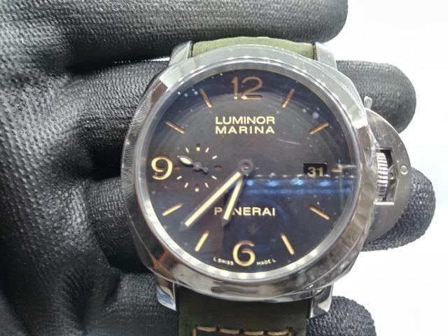 03891ab7028 Relógio Panerai Luminor Marina 44mm Automático modelo top ...