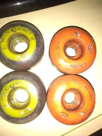 Rodas de Skate(Moong Wheels&Moska)
