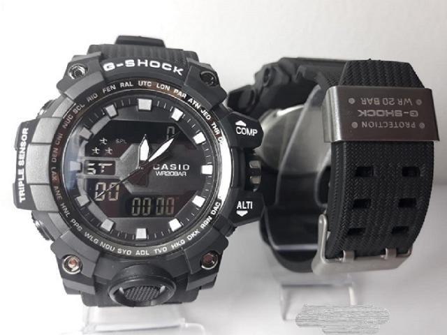 c2e6d24017c Relógio Masculino Casio G-Shock á Prova D agua Anti-shock Promoção Barato