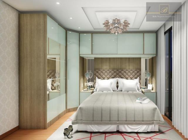 Apartamento com 1 dormitório à venda, 58 m² por R$ 289.425 - Santo Antônio - Joinville/SC - Foto 8