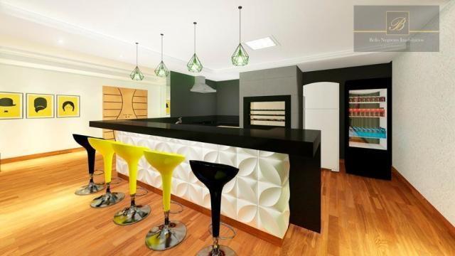 Apartamento com 1 dormitório à venda, 58 m² por R$ 289.425 - Santo Antônio - Joinville/SC - Foto 5