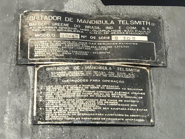 Britador de Mandibulas TELSMITH - Foto 3