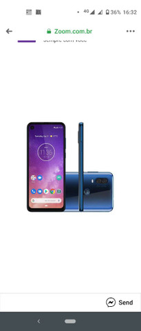 Motorola on vision azul 1,500