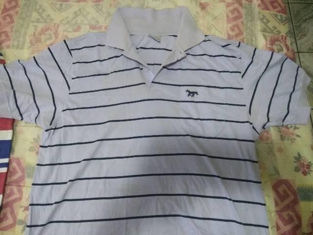 Camisa listrada casual Valmor